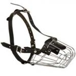 Wire Basket Central Asian Shepherd Muzzle for Comfortable Walking and Training